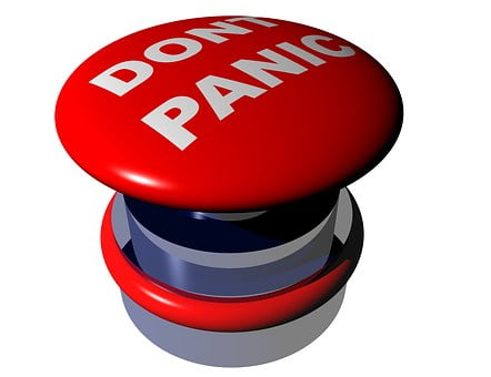 don´t panic button